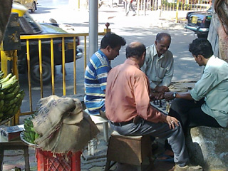 roadside chess