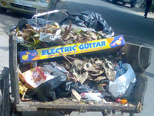 music sea electric guitar